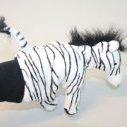 Handpuppe - Zebra
