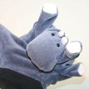Handpuppe - Nilpferd