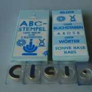 ABC-Stempel und mehr aus 5 Elementen