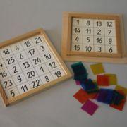 Rechnen mit magischen Quadraten