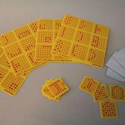 Lotto mit Punkttafeln