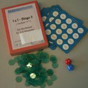 Einmaleins Bingo II