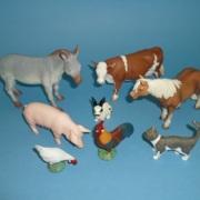 Spielfiguren Bauernhoftiere