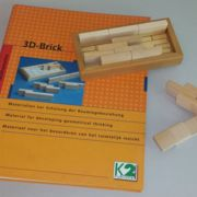 3D-Brick Holzsteine-Set