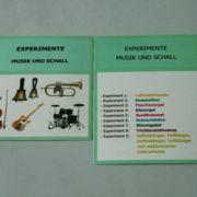 Experimente Musik und Schall