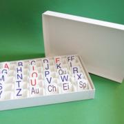Buchstaben- und Motivationskärtchen für die Setzleiste