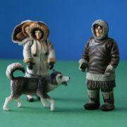 Spielfiguren Inuit