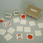 Apfel - Kartenlegespiel