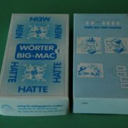 Wörter Big-Mac 1