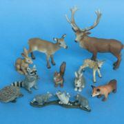 Spielfiguren Waldtiere
